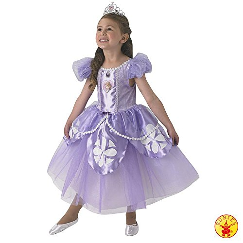 Premium Sofia - Disney Princess - Childrens Costume - Medium - 116 centimetri