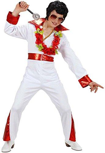 Widmann 74588 - Kinderkostüm König des Rock'N'Roll, Größe (Rocknroll König Kostüme)