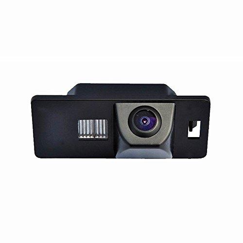 Dynavision Vista posteriore luce targa telecamera per auto Macchina Fotografica di Retrovisione di HD d'inversione di Sostegno Telecamera posteriore per Audi A3 A4(B6/B7/B8) Q5 Q7 A8 S8