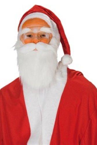 Rubies 622126 - Nikolausmaske (Rubies Weihnachtsmann Kostüm)
