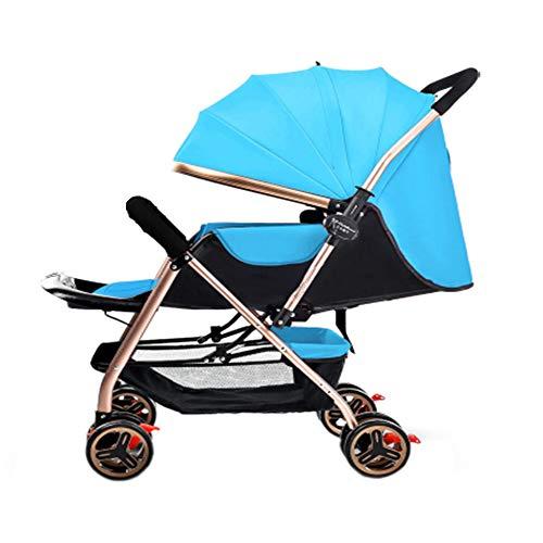 Cochecito plegable, una mano - 4 rueda cochecito, desde el nacimiento hasta los 20 kg, silla de paseo