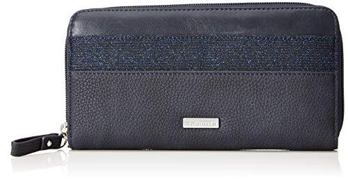 Tamaris Damen Khema Geldbörse, Blau (Navy Comb.) 10x2x19,5 cm