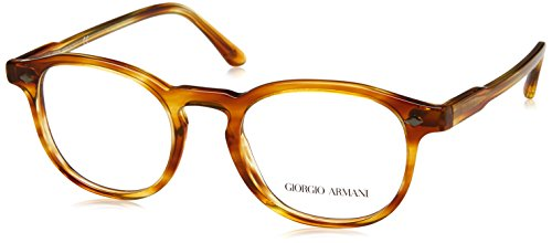 1cf76d5ced83bd Giorgio Armani 0AR7136, Monturas de Gafas para Hombre, Marrón (Striped  Straw),