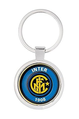 Metal Schlüsselanhänger mit Fußballverein Inter Milan logo polymere Aufkleber