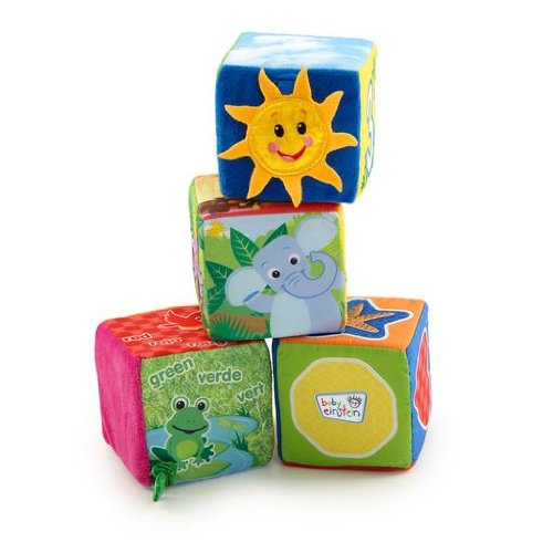 Baby Einstein 90629 - Explore & Discover Soft Blocks