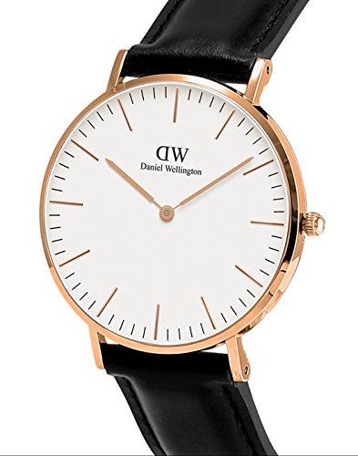 Daniel Wellington Classic Damen-Armbanduhr Analog Quarz Leder - DW00100036