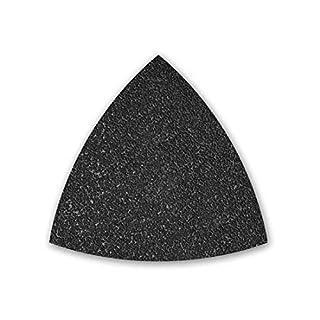 50 MENZER Klett-Schleifblätter für Deltaschleifer 82 mm - Korn 600