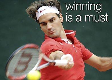 """MOTIVATIONAL, Roger Federer, già premiato con un riconoscimento, è un must-have, formato A3, scritta in inglese """"Poster con foto, sport, boxe, ecc, ATHLETICS, Body building, TRIATHLON, Basket, calcio, RUGBY, nuoto, boxe, arti marziali, GOLF, HOCKEY, SQUASH, formato A4"""