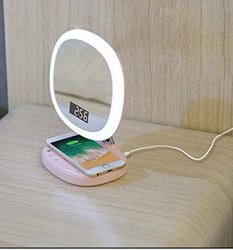 Schönheit & Gesundheit ZuverläSsig 10 Stücke Blue Folding Tragbare Make Up Spiegel Dame Kosmetische Spiegel Eingebaute Led-lampen Spiegel Schminkspiegel