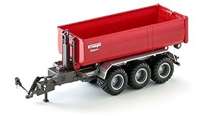 Siku 6786 - 3-Achs-Hakenliftfahrgestell mit Mulde, Fahrzeuge von SIKU