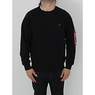 Alpha Industries Herren Sweatshirt schwarz S