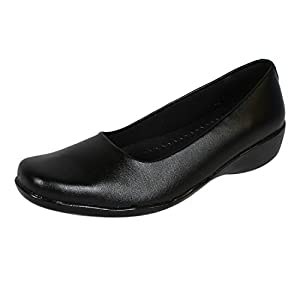 Ashoka Girl's Black Formal Shoes