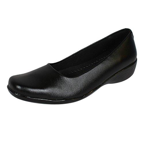 Ashoka Girl's Black Formal Shoes