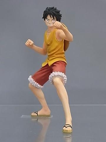 One Piece Super Styling MARINE FORD Figurine: Mokey D. Luffy