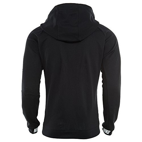 Nike Herren Sportswear Advance 15 Fleece Langarm Oberteil mit Kapuze Full-Zip schwarz