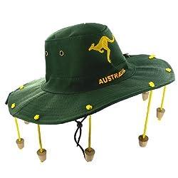 New Australian Crocodile Dundee Hat Corks Mens Aussie Bush Style Fancy Dress Shopmonk by zizzi
