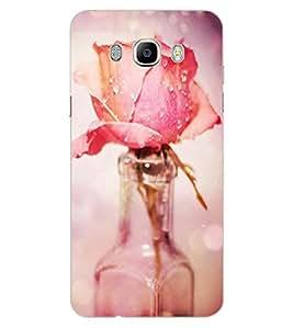 ColourCraft Love Rose Design Back Case Cover for SAMSUNG GALAXY J5 (2016)
