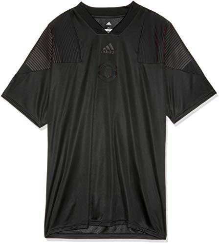 adidas Herren Manchester United FC Kurzarm T-Shirt, Black, XL -