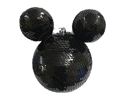 Disney Mickey Mouse Negro Grande Bolas Navideñas Bola