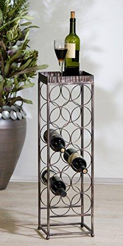Casablanca Design Weinregal Albany für 12 Flaschen 74124 Winterprospekt 2014 Wohnen & Schenken