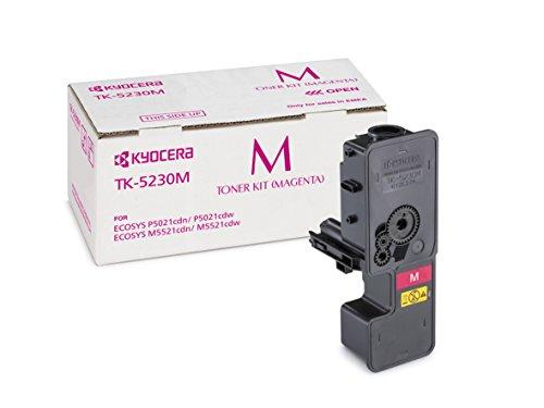 Preisvergleich Produktbild Kyocera TK-5230M Original-Toner-Kartusche Magenta 1T02R9BNL0. Für ECOSYS M5521cdn, ECOSYS M5521cdw, ECOSYS P5021cdn, ECOSYS P5021cdw. Amazon Dash Replanishment-Kompatibel