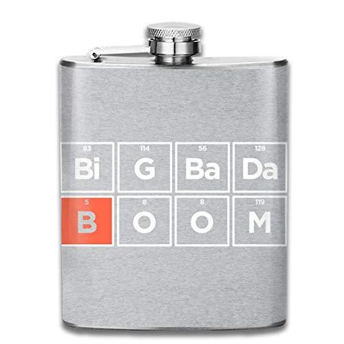 Boron The Fifth Element Big Badaboom Print Flachmann Taschenflasche Flagon 200 ml Tragbarer Edelstahl Flagon