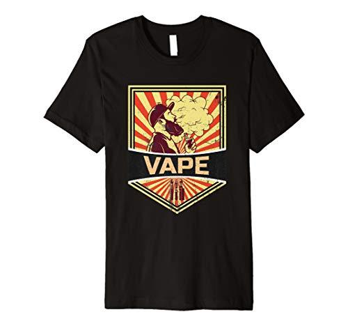 Vape T-Shirt Dampfen Propaganda | E-Zigarette Liquid Wolken