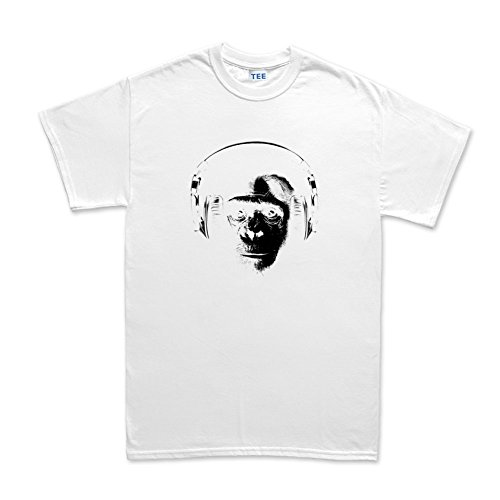 Ape DJ Headphones T-shirt Weiß