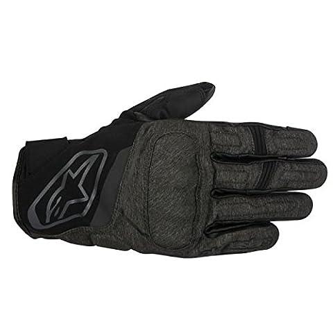 Alpinestars Syncro Drystar Waterproof Motorcycle Gloves - Black/Grey XL