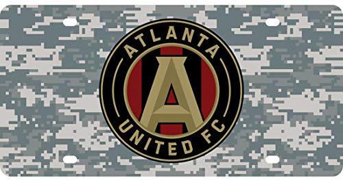 Atlanta United Premium Kennzeichen Winter Camouflage Edition - United License Plate Frame