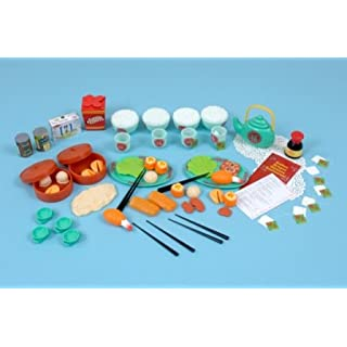Childrens Plastic Chinese Food Set-A1435 by Alphabet Educational Supplies