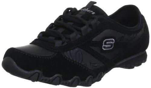 Skechers BikersAll Appeal 99999773, Sneaker donna Nero (Schwarz (BLK))