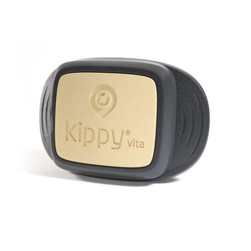 Kippy Vita - GPS und Activity Monitor für Hunde und Katzen - Ortungsservice für Tiere mit integriertem GPS für Hunde - Black Guardian