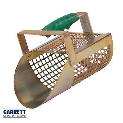 Pala Tamiz Arena Garrett Sand Scoop de metal perforada perforada para Ricerche (playa mar río Lago battigia Shovel para metal...