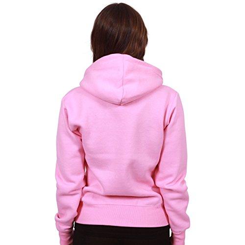 MALAIKA -  Felpa con cappuccio  - Cappuccio  - Basic - Maniche lunghe  - Donna Baby Pink