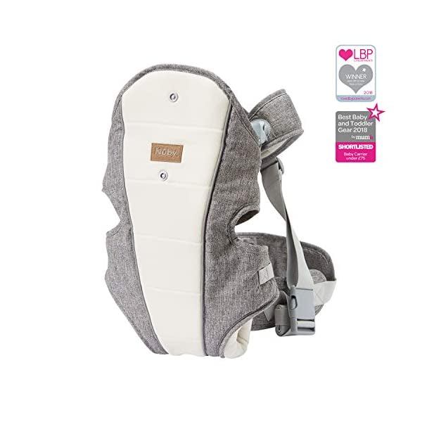 Nuby Baby Carrier, 3 in 1 Convertible Newborn Carrier Nuby 3 in 1 convertible baby carrier that adjusts as your baby grows. 1. front carrier, baby facing chest (from new-born) 2. front carrier, baby facing outwards (5-6m+) 3. back carrier position (6m+) Sturdy waist belt and adjustable padded straps to help support weight on your hips to avoid any back or shoulder discomfort Padded seat to provide extra comfort for your baby and keeps their legs perfectly positioned in the ergonomic frog-leg position 1
