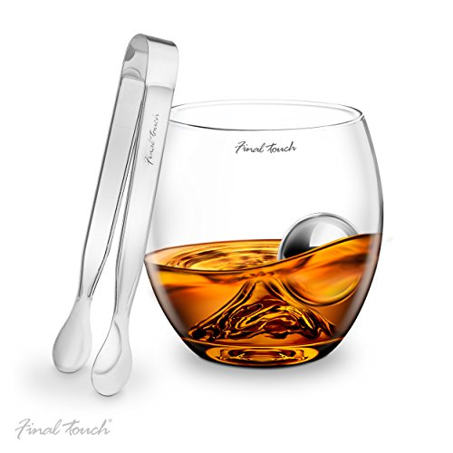 final-touch-stainless-steel-edition-on-the-rocks-drinking-glass-set-verre-a-whiskey-potable-glass-se