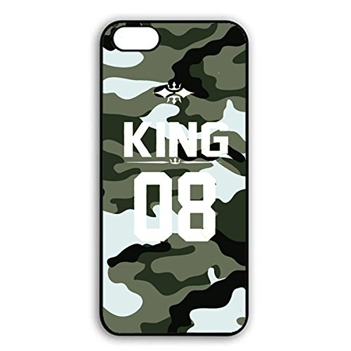 Iphone 7 Case,Personality Prime King Queen Crown Couple Phone Case Cover for Iphone 7 Best Friends Boyfriend Girlfriend Lovers Shell Cover Color011d