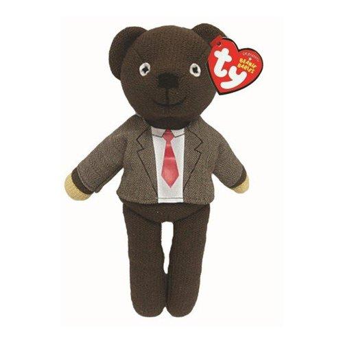 TY Original Beanie - Mr Bean Jacket & Tie Teddy Bean 25cm