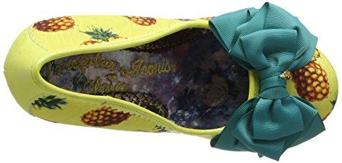 Irregular ChoiceAscot - Scarpe con Tacco Donna Yellow (Yellow/Brown)