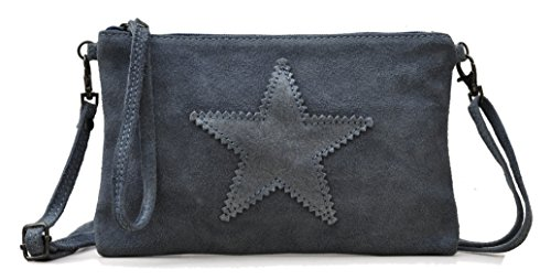 Lae In , Damen Clutch S Bleu type jean