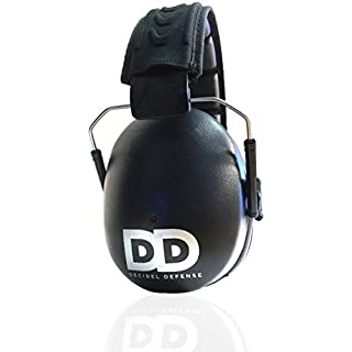 Professional Ear Defenders by Decibel Defense - The HIGHEST Rated & MOST COMFORTABLE Ear Protection - Tool & Industrial Use - THE BEST HEARING PROTECTION...GUARANTEED