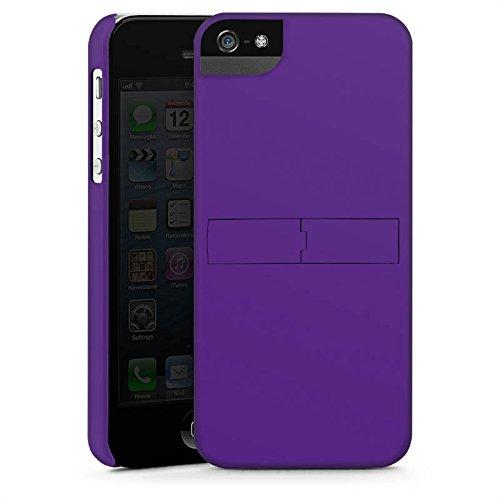 Apple iPhone 4 Housse Étui Silicone Coque Protection Lilas Violet Violet CasStandup blanc