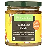 Aamra Homemade Sweet and Sour Fresh Lime Pickle 200gm