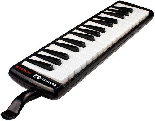 Hohner 32B Melodica (Klavierdesign), schwarz