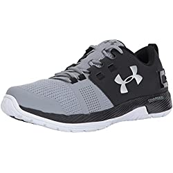 Under Armour UA Commit TR, Zapatillas Deportivas Para Interior Para Hombre, Negro (Black), 41 EU