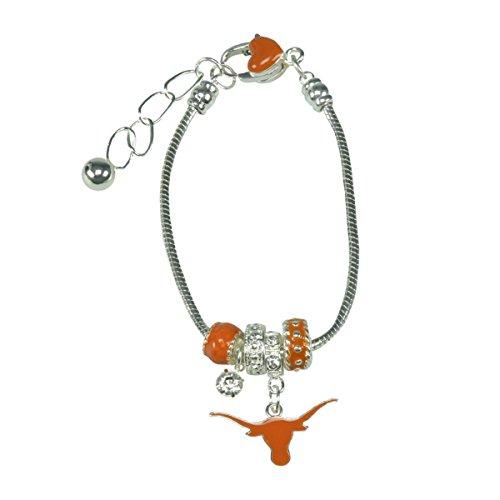 Sports Team Accessories Texas Longhorns MVP Charme Armband (College Teams Kostüm)