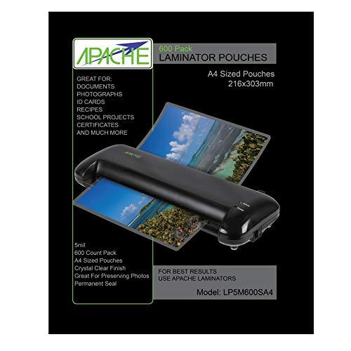 Apache LP Pouch (125 Mikron, 600 Stück)