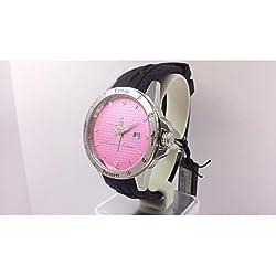 Uhr Cesare Paciotti Time Style tsst002Quarz (Batterie) Stahl Quandrante Rosa Armband Kautschuk
