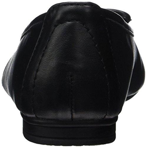 Softline 22163, Ballerines fermées femme Noir